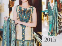 Abrish Classic Lawn Suit 201-B in Pakistan