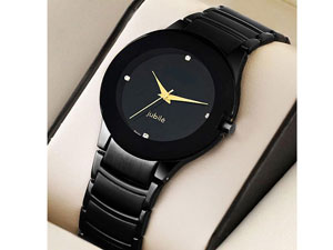 Men's Black Jubile Watch Price in Pakistan