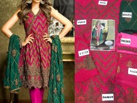 Embroidered Chiffon Suit in Pakistan
