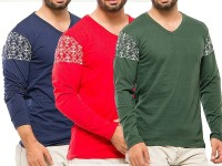 Pack of 3 Arm Print T-Shirts Price in Pakistan