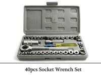 40-Pcs Combination Socket Wrench Tool Set in Pakistan