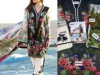 Embroidered Lawn Suit with Cotton Net Dupatta in Pakistan