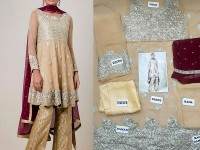 Chiffon Embroidered Dress in Pakistan