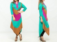 Multi Color Ladies Viscose Top in Pakistan