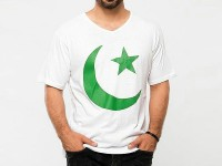 Independence Day V-Neck T-Shirt in Pakistan