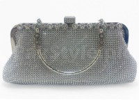 Silver Diamante Bridal Clutch Price in Pakistan