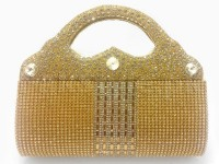 Girls Fancy Clutch Bag - Golden in Pakistan