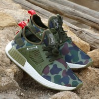 Mens Adidas Superstar Bounce Casual Shoes Camouflage