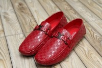 Comfortable Stylish Men's Loafers Red in Pakistan