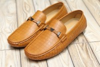 Comfortable Stylish Men's Loafers Camel in Pakistan
