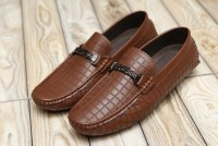 Comfortable Stylish Men's Loafers Dark Brown in Pakistan