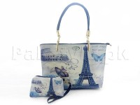 Paris Eiffel Tower Handbag with Mini Pouch in Pakistan