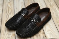 Lining Design Men's Loafer Shoes Brown in Pakistan