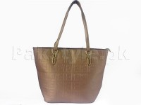Ladies Tote Bag - Brown in Pakistan
