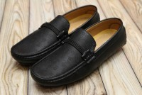Men's Designer Loafers Black in Pakistan