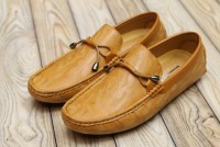 Men's Laced Loafers Camel in Pakistan