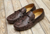Men's Laced Loafers Coffee in Pakistan