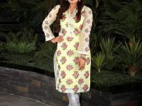 Erum Khan Embroidered Chiffon Kurti in Pakistan
