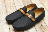 Comfortable Slip-on Loafers For Men Black in Pakistan