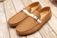 Comfortable Slip-on Loafers For Men Camel in Pakistan