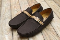Comfortable Slip-on Loafers For Men Dark Brown in Pakistan