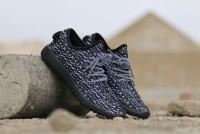 Men's Yeezy Sports Shoes -  Turtle Black in Pakistan