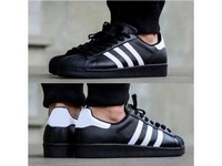 Men's Superstar Bounce Shoes - Black in Pakistan
