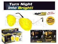 Night View NV Aviator Glasses in Pakistan