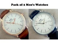 Pack of 2 DW Watches For Men in Pakistan