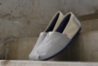 Men's Classic Canvas Slip-ons Grey in Pakistan