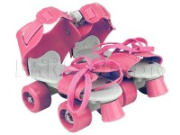 Kids Wheeled Skate Shoes - Pink in Pakistan