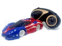 Captain America RC Wall Climbing Car in Pakistan
