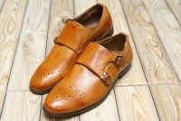 Men's Designer Formal Shoes - Camel in Pakistan