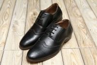 Men's Lace-up Formal Shoes - Black in Pakistan