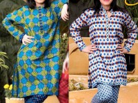2 Star Printed Lawn Suits of Your Choice in Pakistan