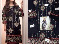 Heavy Embroidered Cotton Lawn Dress in Pakistan