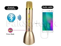 Bluetooth Karaoke Music Mic + Power Bank in Pakistan